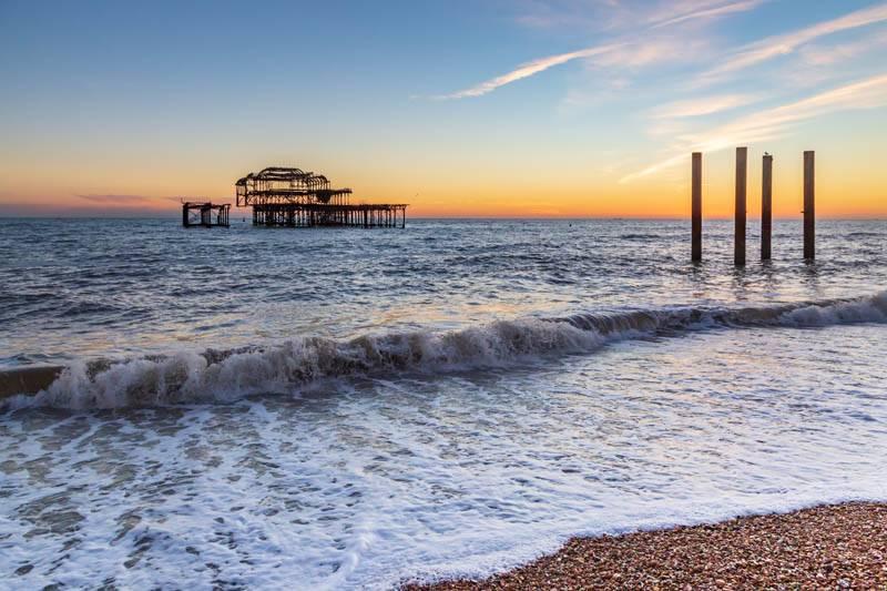 Sunset at Brighton